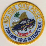 NYnyspTroopTthruwayDrugInterdiction